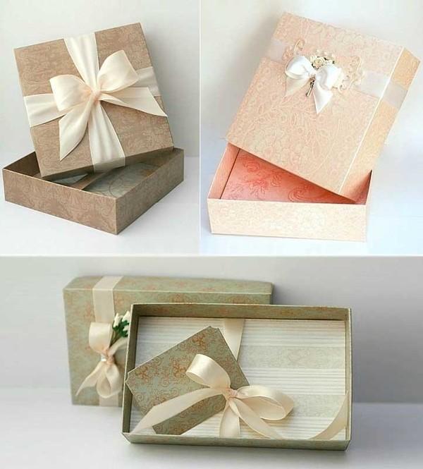 Cách gấp dán hộp đựng quà tiện dụng và đẹp mắt