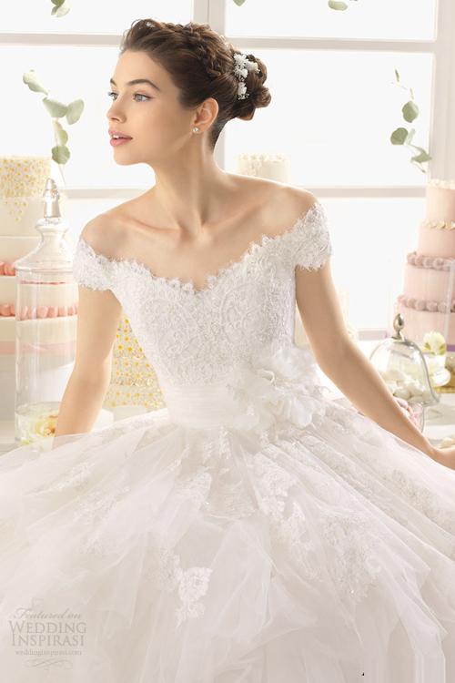 Váy cưới công chúa 2015 tuyệt đẹp