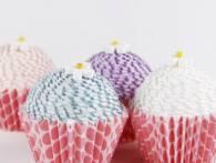Làm hộp quà đựng kẹo hình bánh cupcake