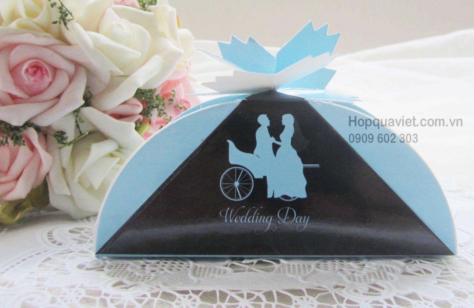 Hộp quà cưới lá phong xanh 5X